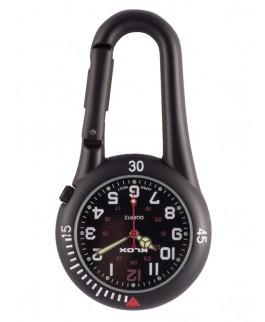 Reloj Enfermera Mosquetón NOC450 Negro