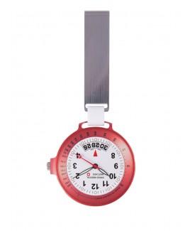 Reloj Médico Suizo Rojo