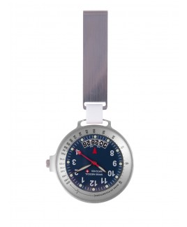 Reloj Swiss Medical Care Line Plata Azul - Edición Limitada