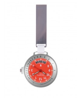 Reloj Swiss Medical Care Line Plata Rojo - Edición Limitada