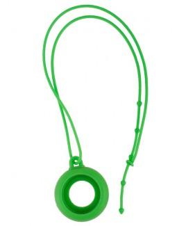 Reloj colgante para enfermeras silicona verde