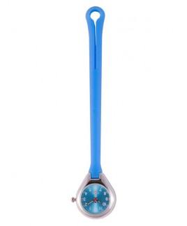 Reloj Enfermera Colgante Silicona Azul