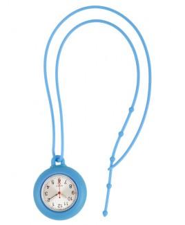 Reloj de collar silicona rosa