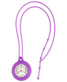 Reloj de collar silicona Violeta