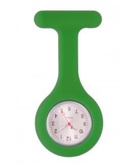 Reloj Enfermera Silicona estándar Verde