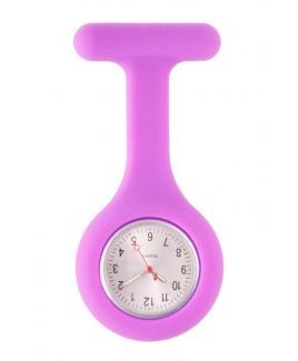 Reloj Enfermera Silicona estándar Violeta