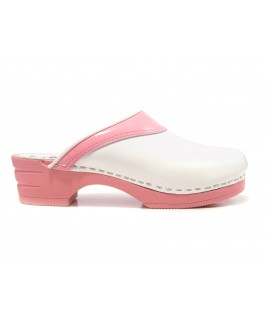 LAST CHANCE size 40 Moofs Pink and White