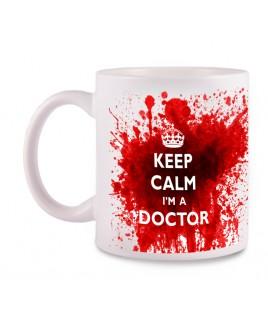 Taza Doctor con tu Nombre