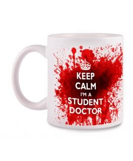 Taza Student Doctor con tu Nombre
