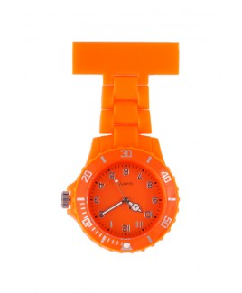 Reloj Neon Naranja