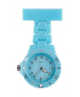 Reloj de enfermera Neón Turquesa