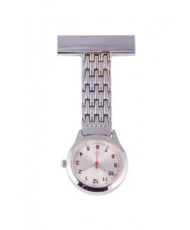 Reloj Enfermera Elegante Plata
