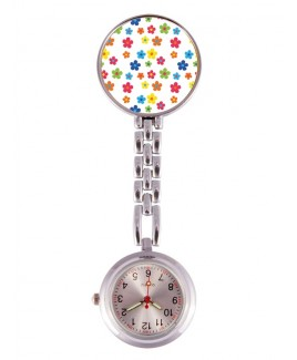 Reloj Enfermera Little Flowers
