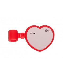 Etiqueta Nombre Estetoscopio Corazón