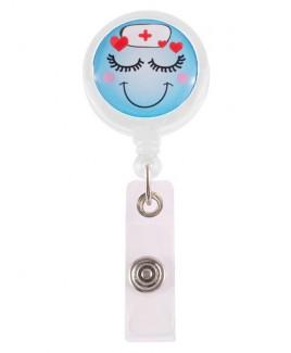 Porta Credenciales Retráctil Lovely Nurse