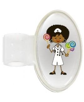 Etiqueta Identificación Estetoscopio Candy Nurse